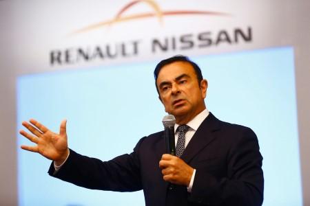 Глава альянса Renault-Nissan Карлос Гон.